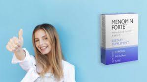 Menomin Forte - pomoc przy menopauzie - opinie – efekty - ceneo